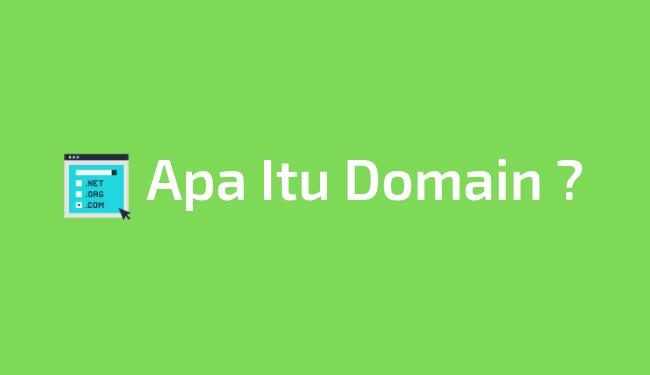 Pengertian domain dan strukturnya