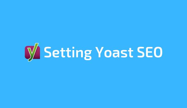 Cara setting Yoast SEO 2019