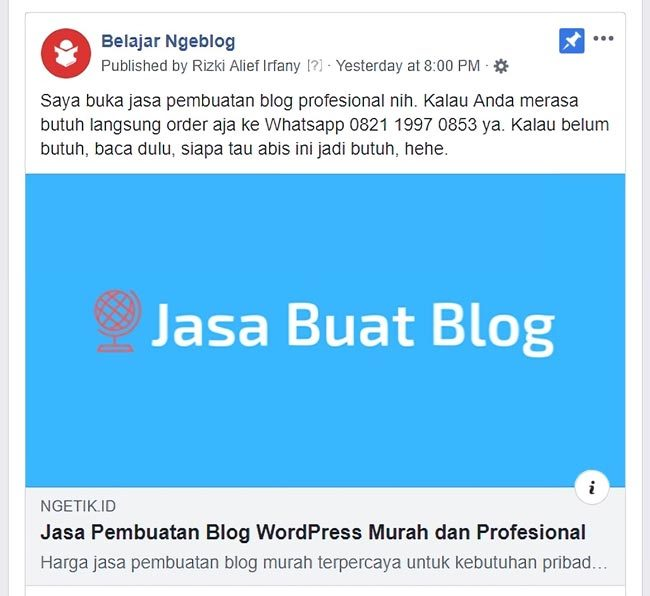 Manfaat featured image untuk SEO On Page