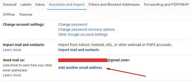 Menambahkan email pengirim ke Gmail