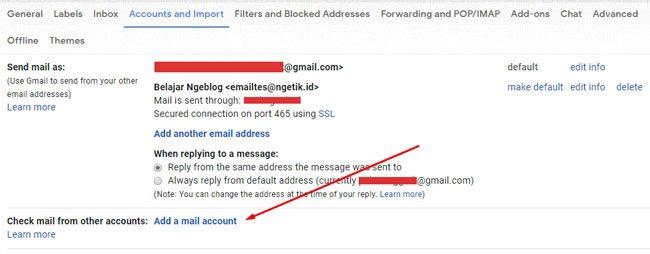 Mengalihkan iinboc email domain ke Gmail