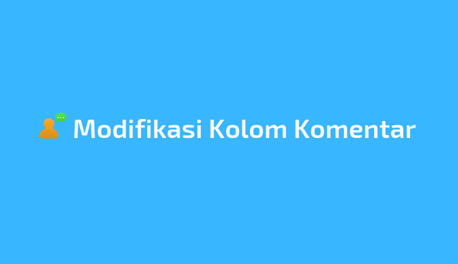 Tips modifikasi komentar WordPress