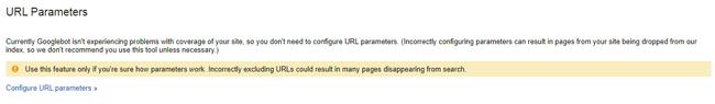 Fitur URL parameters