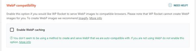 Fitur terbaru WebP compatibility