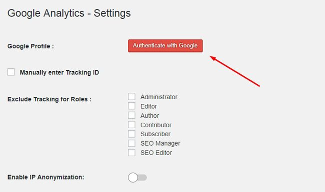 Autentifikasi melalui Google