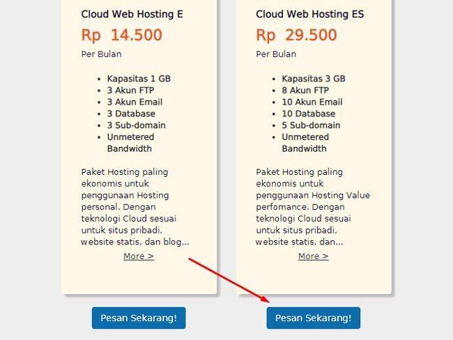 Cara membeli domain dan hosting di Qwords.com